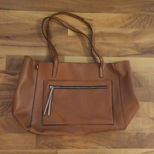 NWOT Large Leather Tote
